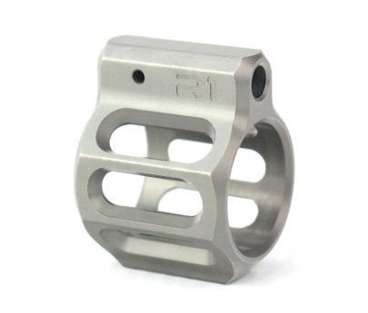 R1 Tactical LVG Low Profile Gas Block 416 Stainless .750