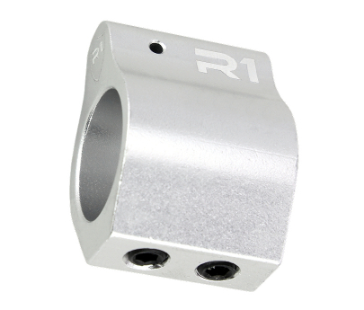 R1 Tactical Aluminum Low Profile Gas Block .750 - Silver