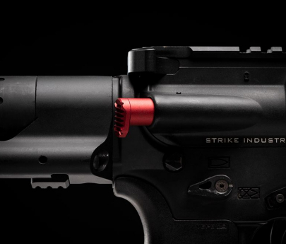 Strike Industries AR Extended Forward Assist - Red