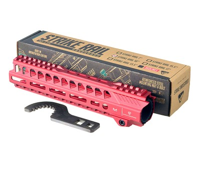 "Strike Industries Strike Rail 10"" M-LOK Handguard - Red"