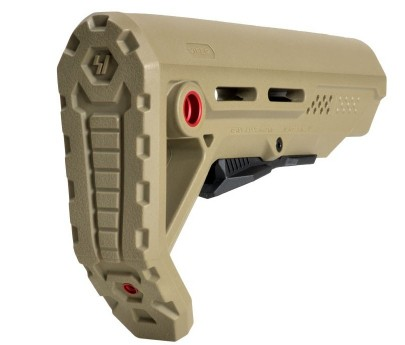 Strike Industries MOD1 AR Stock - FDE/Red