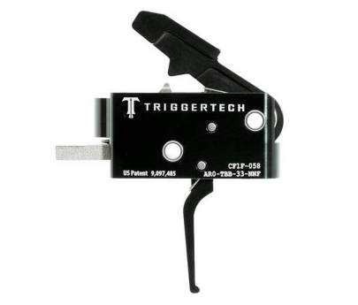 TriggerTech Competitive AR Primary Trigger Fixed 3.5 lb - Black Flat