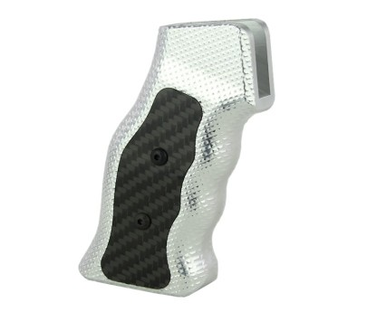 Venom Defense AR-15 RENEGADE Hybrid Carbon Fiber and Aluminum Grip - As Machined