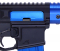 Guntec USA AR-15 Ejection Port Dust Cover Assembly Gen 3 - Anodized Blue