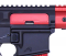 Guntec USA AR-15 Ejection Port Dust Cover Assembly Gen 3 - Anodized Red